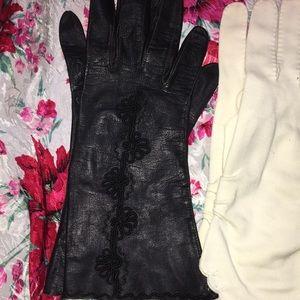 3 Vintage Gloves